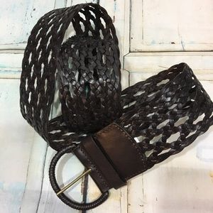 LOFT LEATHER WAIST BELT